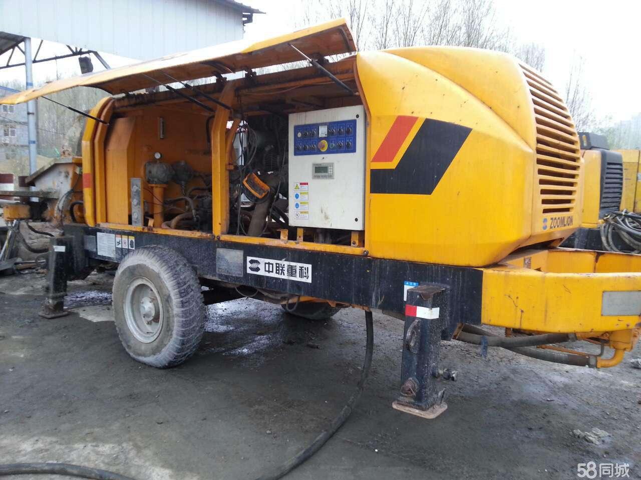 在线体彩混凝土输送泵租赁