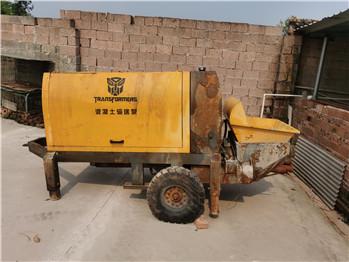 出售一台二手30-25型电动泵车